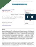 El Contexto Científico de La Educación Especial_ Bases Psicológicas Para El Diseño y Desarrollo de Prácticas Educativas Adaptadas