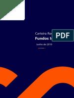RICO Carteira Fundos Imobiliários 2019