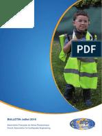AFPS Bulletin 2016 XX