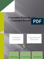 Consumer Behaviour and Consumer Research