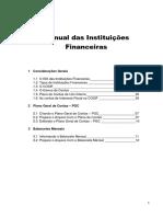 Manual Das Instituições Financeiras