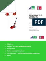 Presentacion Uso de Gatas Hidraulicas - CNSAC