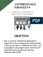 Plan Diferenciado Humanista