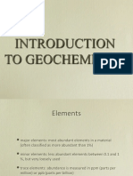 PET 720 05 Geochemistry