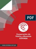 Brochure Corporación de Vidrio y Aluminio COVIASA S.A.C.