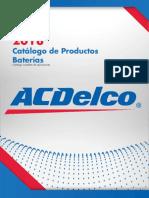 Catálogo Baterías 2018