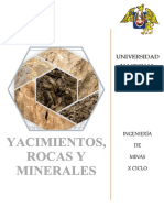Yacimientos,Rocas y Minerales