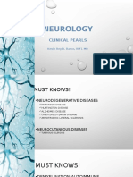 Neurology Pearls