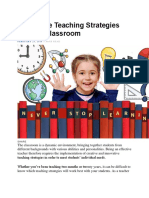7 Effective Teaching Strategies For The Classroom.docx