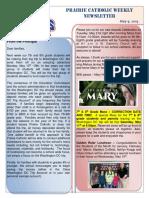 Newsletter 05 19 19