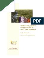 Mujeres Intelectuales Peruanas y JC Mariategui Por Cecilia Bustamante