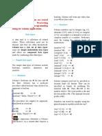 Lisp programming using Dr Scheme