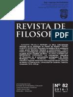 Revista de Filosofia - La Concepción Educativa de Rousseau en El Pensamiento Pedagógico de Simón Rodríguez