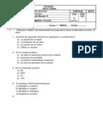 2 Prueba de Química NT
