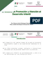1.- El Modelo de Promoción y Atención Al Desarrollo Infantil Macroproceso