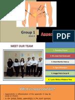 Group 1 Appendicitis 2018A
