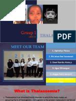 Group 1 Thalassemia 2018A