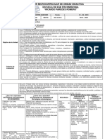 Planificación Microcurricular de Unidad Didactica Ricardo Paredes