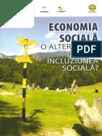 Economia Sociala o Alternativa Pentru Incluziunea Sociala