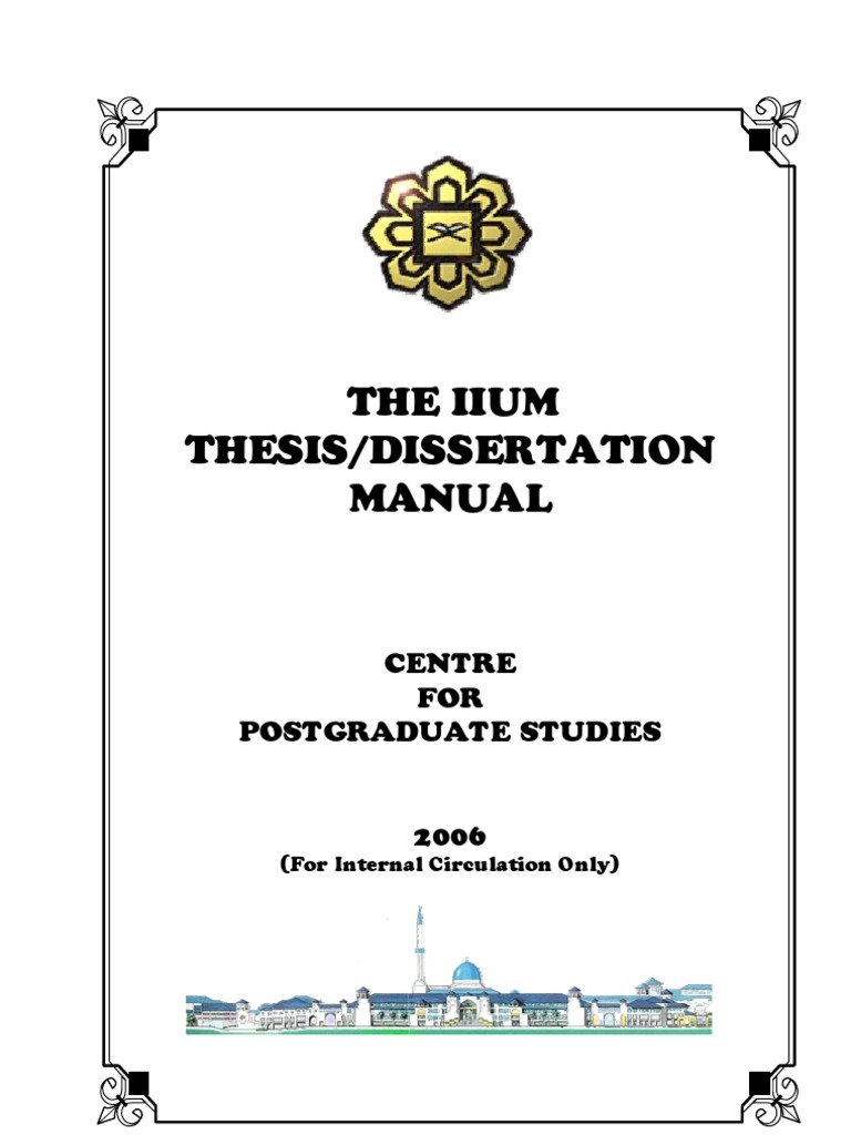 Curry school of education dissertation manual