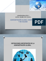 Administración Global.