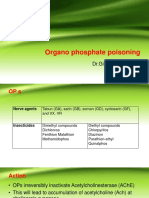 Organo Phosphate Poisoning by Dr Gireesh Kumar K P