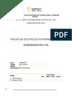 PROJETOS ELÉTRICOS EXPERIMENTAIS