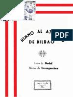 Himno Athletic de Bilbao (T. Urrengoechea). Fernando Abaunza