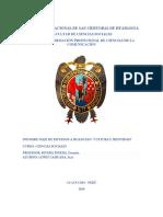 Informe Dde Huancayo