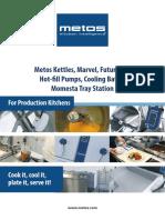 Metos Manufacturing Cooking Core
