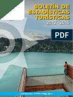 Boletin Estadisticas Turisticas 2012 2016