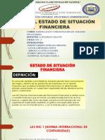 Exposicion de Formulacion de Estados Financieros