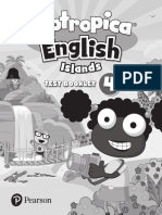 Poptropica English Islands 4 Test Booklet