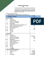 6.0 Liquidacion Financiera