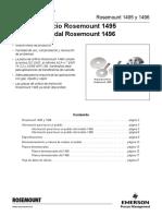 Hoja de Datos Del Producto Placa de Orificio Rosemount 1495 Bridas de Caudal Rosemount 1496 Es 88954