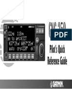 GNC250GPS QuickReferenceGuide