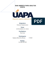 Estructura Organizacional Tarea 3