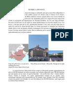 Decrire La Provence