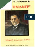 Articulos de Costumbres - Abelardo Gamarra Rondo