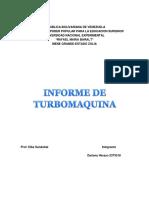 Informe de Turbomaquina