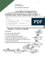 Evaluacion Sumativa Matematica Unidad 5...Medición
