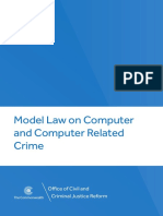 P15370 11 ROL Model Law Computer Related Crime