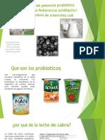 utilizacion de bateria lactica como agente probiotico