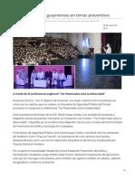 19-05-2019 - Motivan a jóvenes guaymenses en temas preventivos - Opinionsonora.com