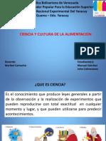 TRAAJO DE LENGUA CIENCIA CULTURA ALIMENTACION.pptx