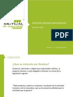 Presentacion Residuos Solidos Industriales No Peligrosos