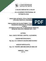 Gasco Pintado- Pulpectomias y Polputomias en Px Pediatricos