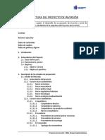 Estructura Del Proyecto de Inversión