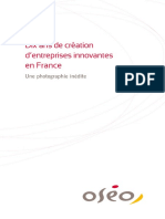 Etude 10ans Creation Entreprise en France