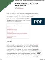 Administrativo_ O Perfil Atual Do Líder Na Administração Pública - Artigo